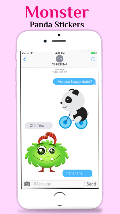 Little Monster and Panda - App Download - App Store | iOS Apps