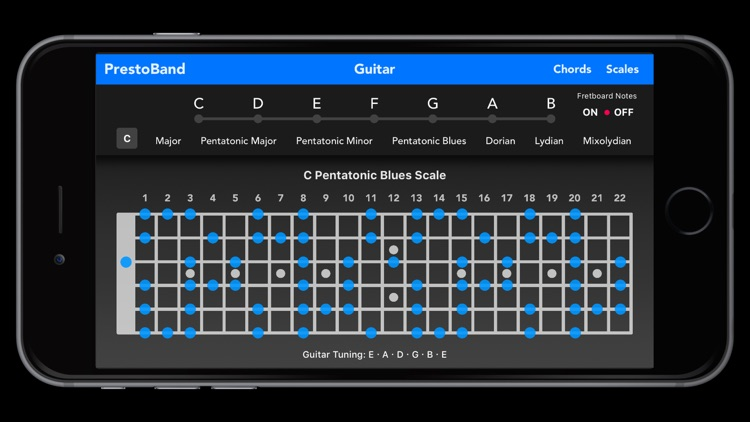 PrestoBand Guitar and Piano screenshot-3
