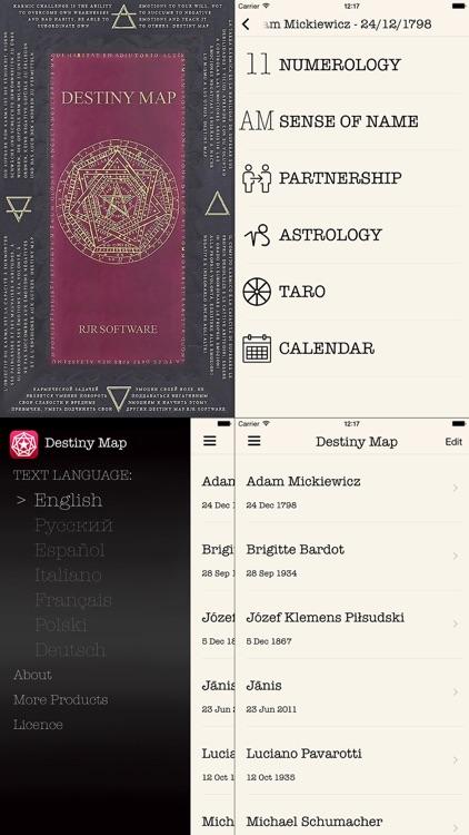 Destiny Map-Numerology Astrology Taro screenshot-0