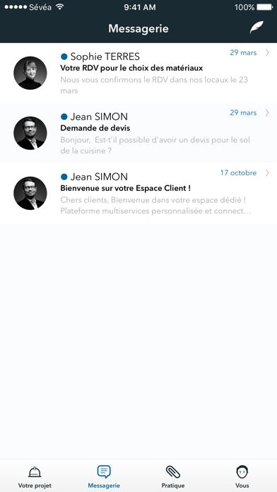 SEVEA - Mon espace client screenshot four