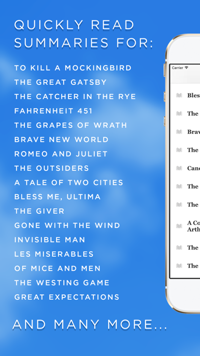 Book Notes - Summaries of Classic Literature Read Study Guides with Spritz Spark Cliffsのおすすめ画像2