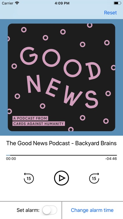 AlarmPod - podcast alarm clock