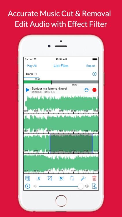 Audio Cutter Premium - Cut Music Effect & Audacity Voice Filter Recorder