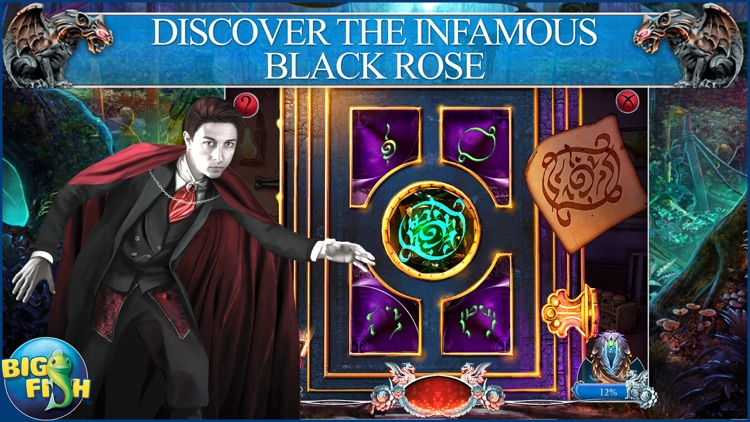 Myths of the World: Black Rose - A Hidden Object Adventure (Full) screenshot-2