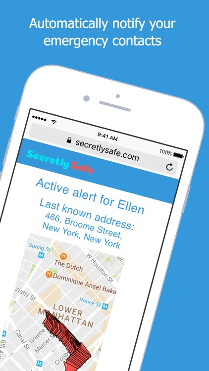 SecretlySafe - Personal Safety screenshot-3
