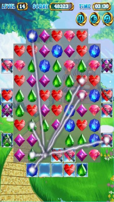 Jewel Poping Mania screenshot two