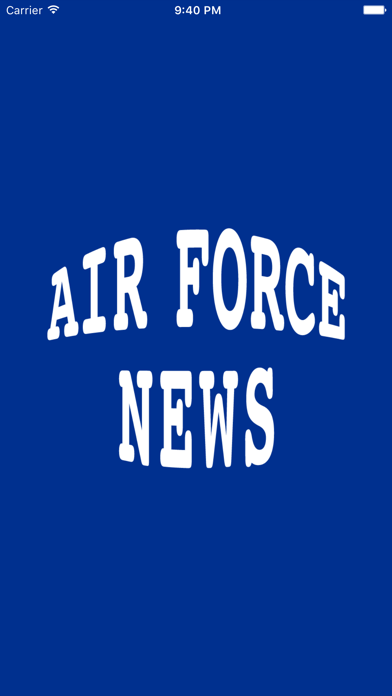 Air Force News - A News Reader for Members, Veterans, and Family of the US Air Force screenshot one