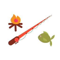 Fishing & Camping Sticker Set for iMessage