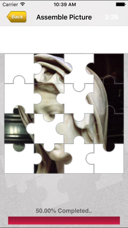Michelangelo Jigsaw screenshot-3