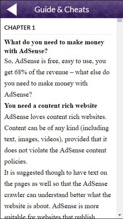 Adsense - PPC on Google. How to earn Money with Ad screenshot-3