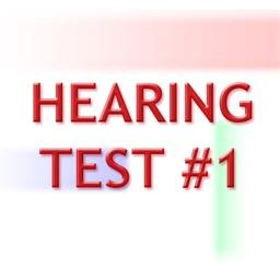 Hearing test #1