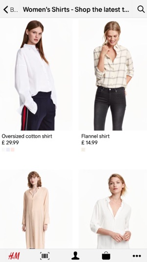 H&M App Screenshot