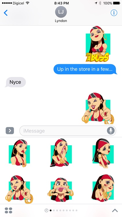 Destra - Lucy Stickers