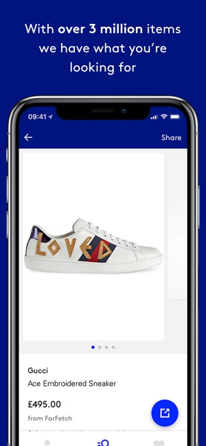 Lyst Find Your Fashion On The App Store - Invoice app for android free gucci outlet store online