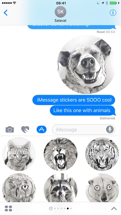 Animals Stickers Pack