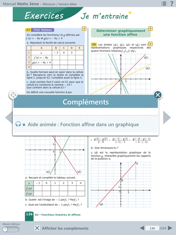 iParcours Maths 3e screenshot-0