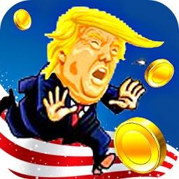Crazy Trump Catch Money Run