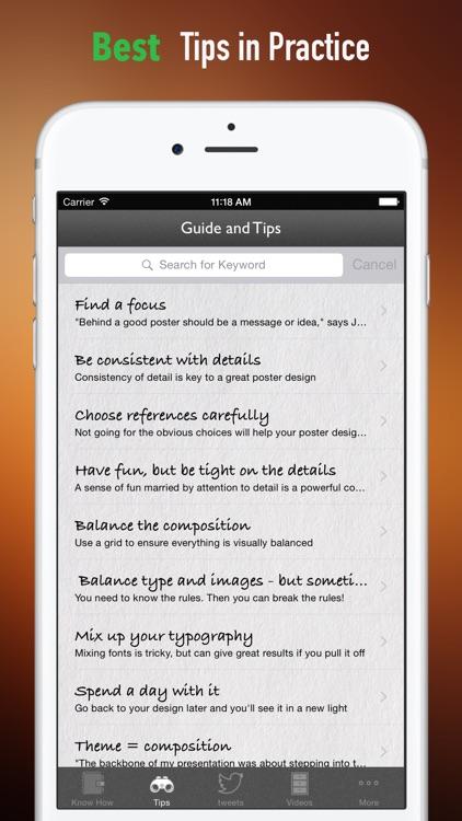 How to Design a Poster screenshot-3