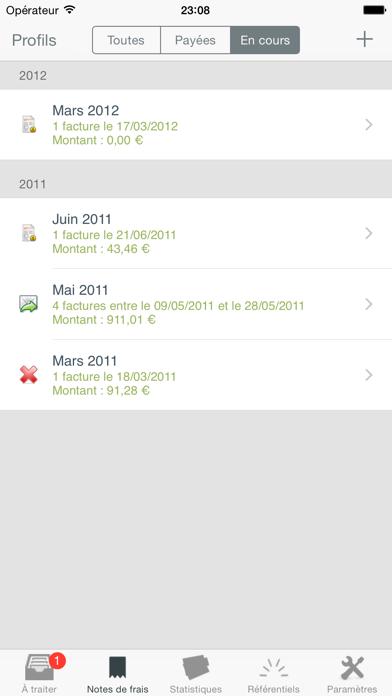 download Mes notes de frais Pro apps 1