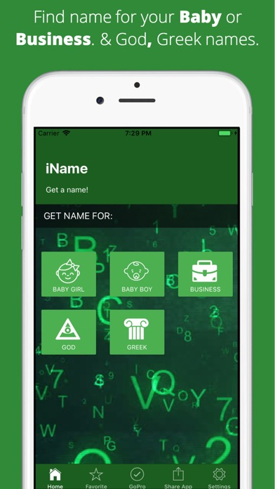 iName - Get a Name screenshot 1