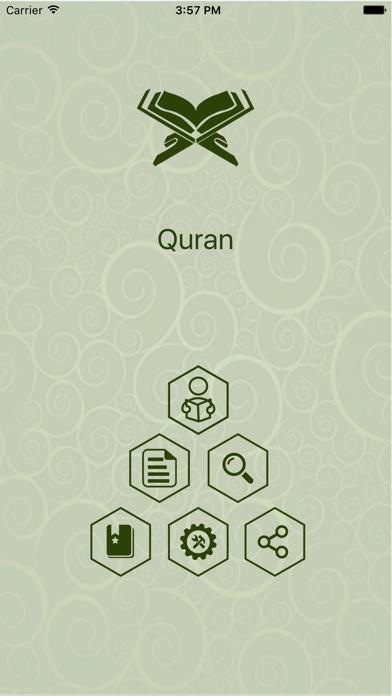Quran in Swahili screenshot one