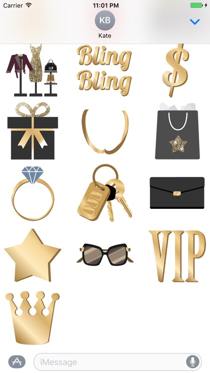 Bling Bling animated Stickers screenshot-4