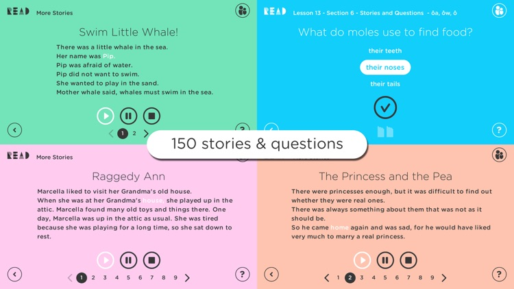 Read4Kids - Kids learn to read in 20 easy lessons screenshot-4