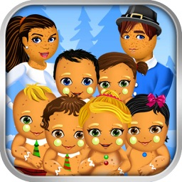 Christmas Mommy's New Baby Salon - My Xmas Spa Doctor Games for Kids!