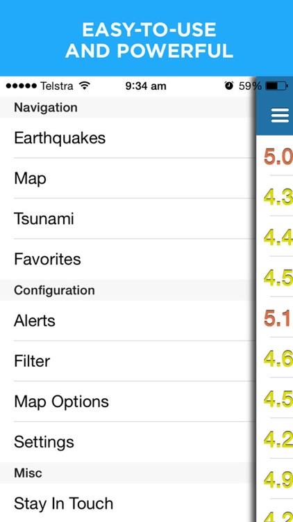 Earthquake+ | Earthquakes Map, News, Alert & Info screenshot-4