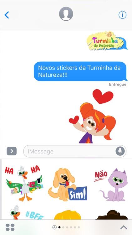 Turminha da Natureza Stickers