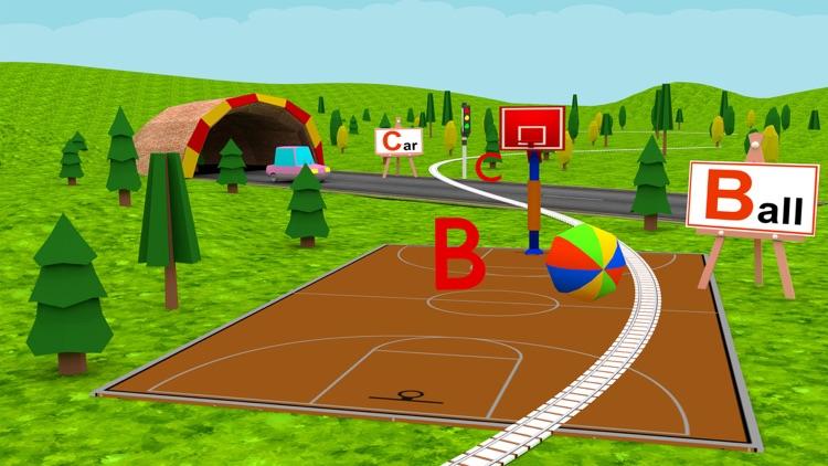 Learn ABC Alphabet For Kids - Play Fun Train Game screenshot-4