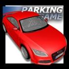 coche deportivo rojo Parking icon