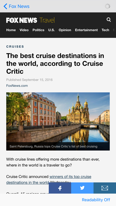 Travel News - Trends, Hot Spots, Tips, and More! screenshot four
