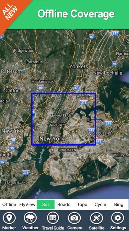 Central Park (New York) - GPS Map Navigator screenshot-4