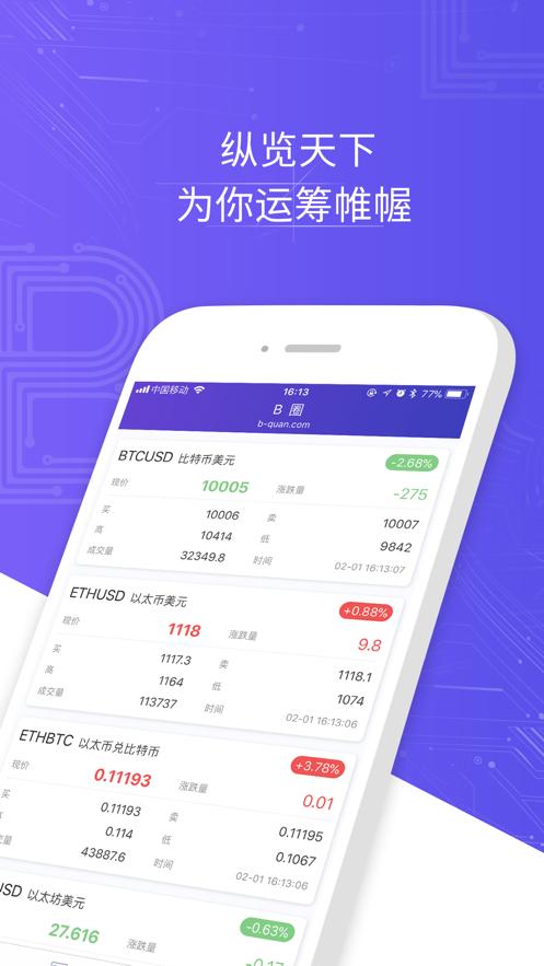 B圈 B-Quan.com App 截图
