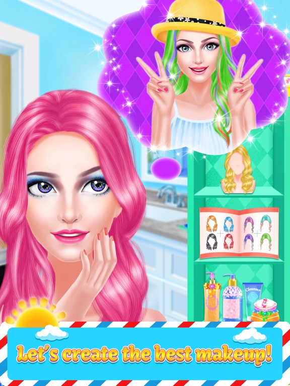 Fashion Girl Hair Style Beauty Salon Game For Girl App Price Drops