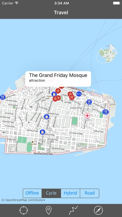 MALDIVES – GPS Travel Map Offline Navigator screenshot-1