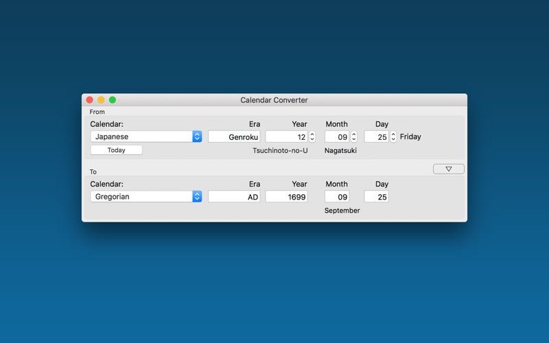 Calendar Converter for Mac