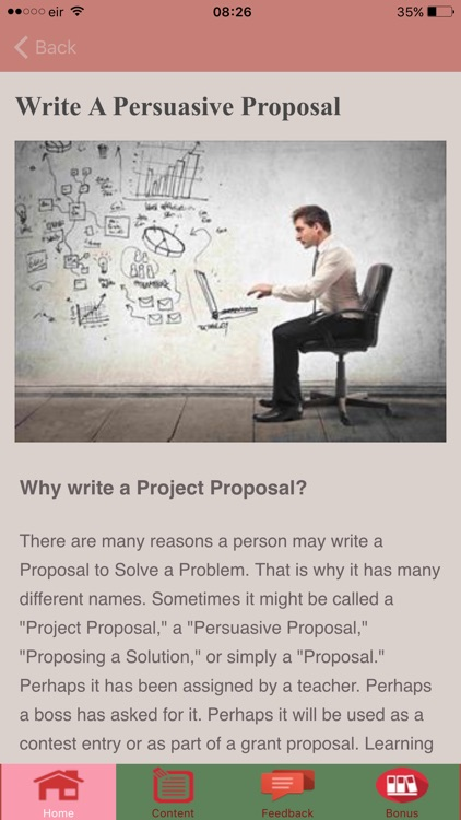 How to Write a Proposal PRO screenshot-0