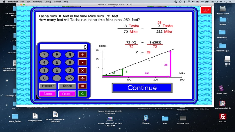 Math Galaxy Word Problems Fun - Lite screenshot-0