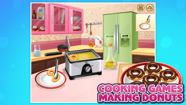 Cooking Games:Making Donuts
