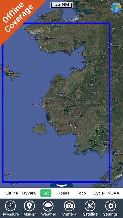 Boating Alaska North West GPS maps fishing charts screenshot-4