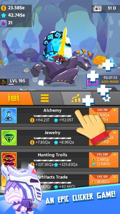 Hero Simulator: clicker game and idle adventure screenshot-4