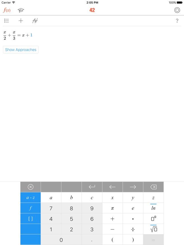 Math 42 im App Store