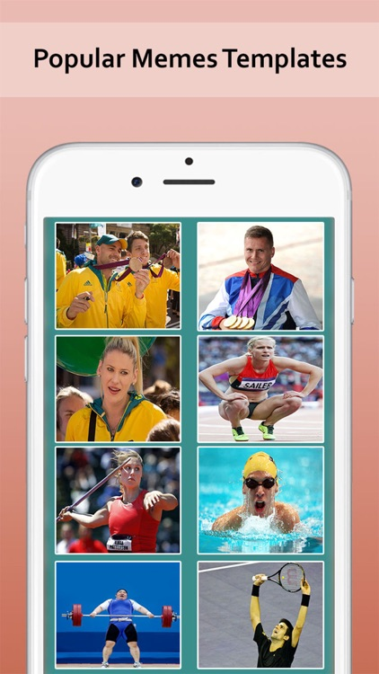 Make a Meme Photography - Create Athlete photo Meme Instantly