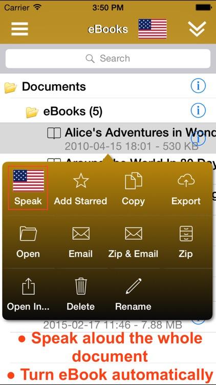 ReadToMe (Text-to-Speech) screenshot-3