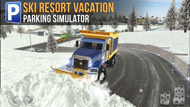 Ski Resort Parking Sim Ice Road Snow Plow Trucker