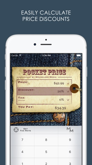 pocket price discount and sales tax calculator をapp storeで