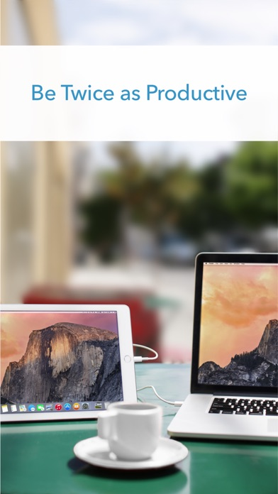 Duet Display screenshot 1