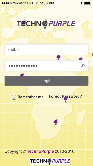 Vffy - TechnoPurple Vehicle Tracking App